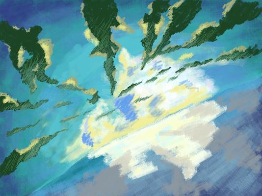 Небо с морем