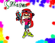 я в игре Splatoon