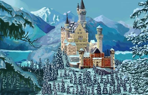 замок (на дуэль)